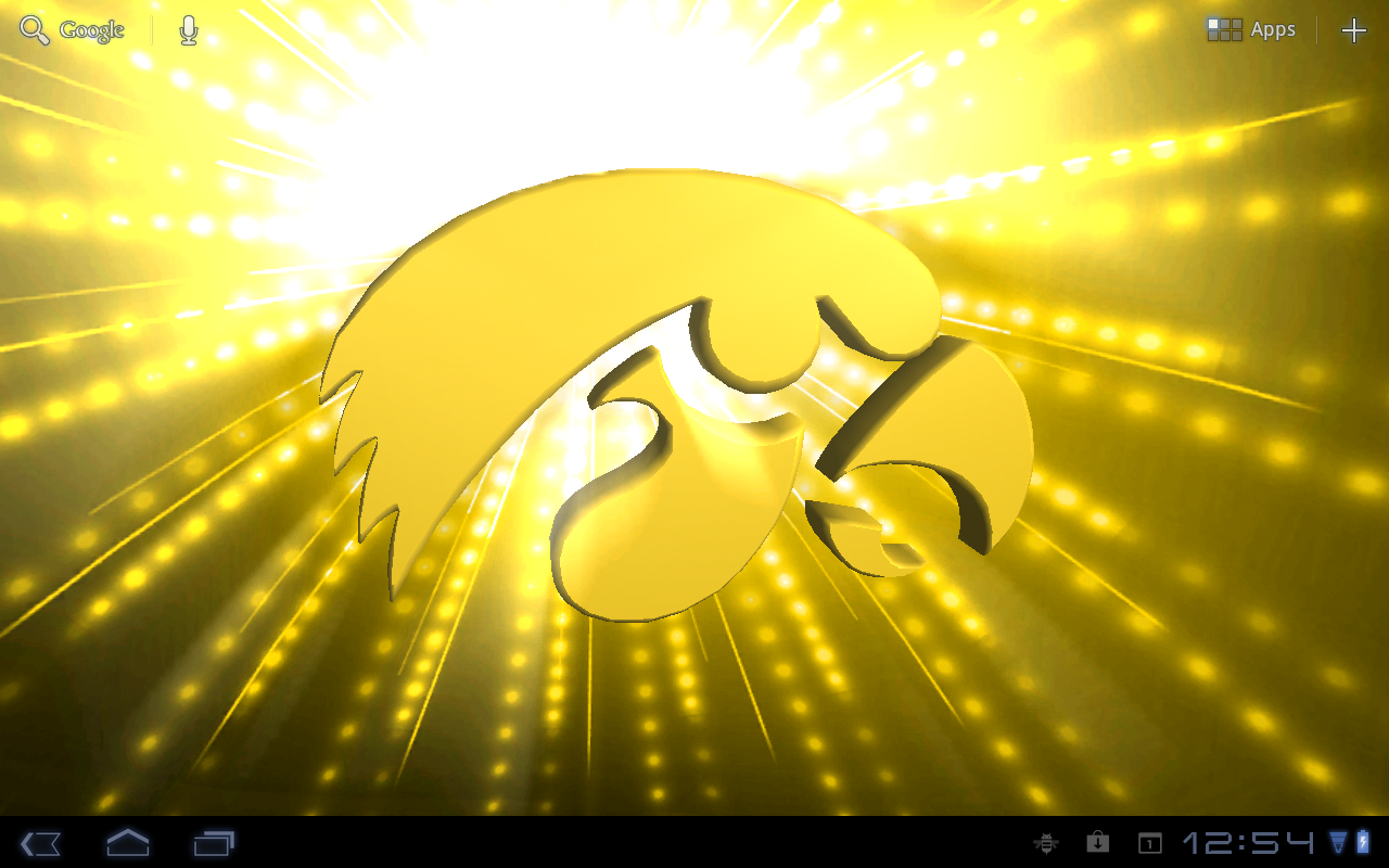 Iowa Hawkeyes LWPs & Tone- screenshot