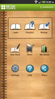 Screenshot of MyWordBook 2
