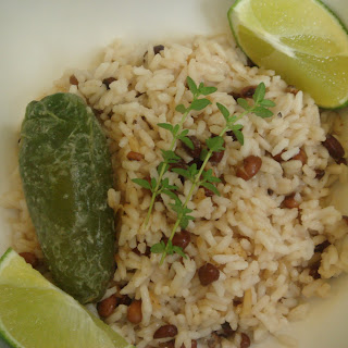 Caribbean Rice and Beans.