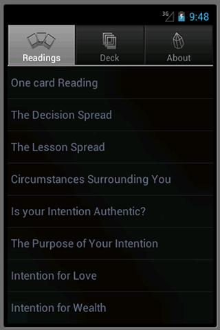 Color Wisdom Cards by Tori - screenshot