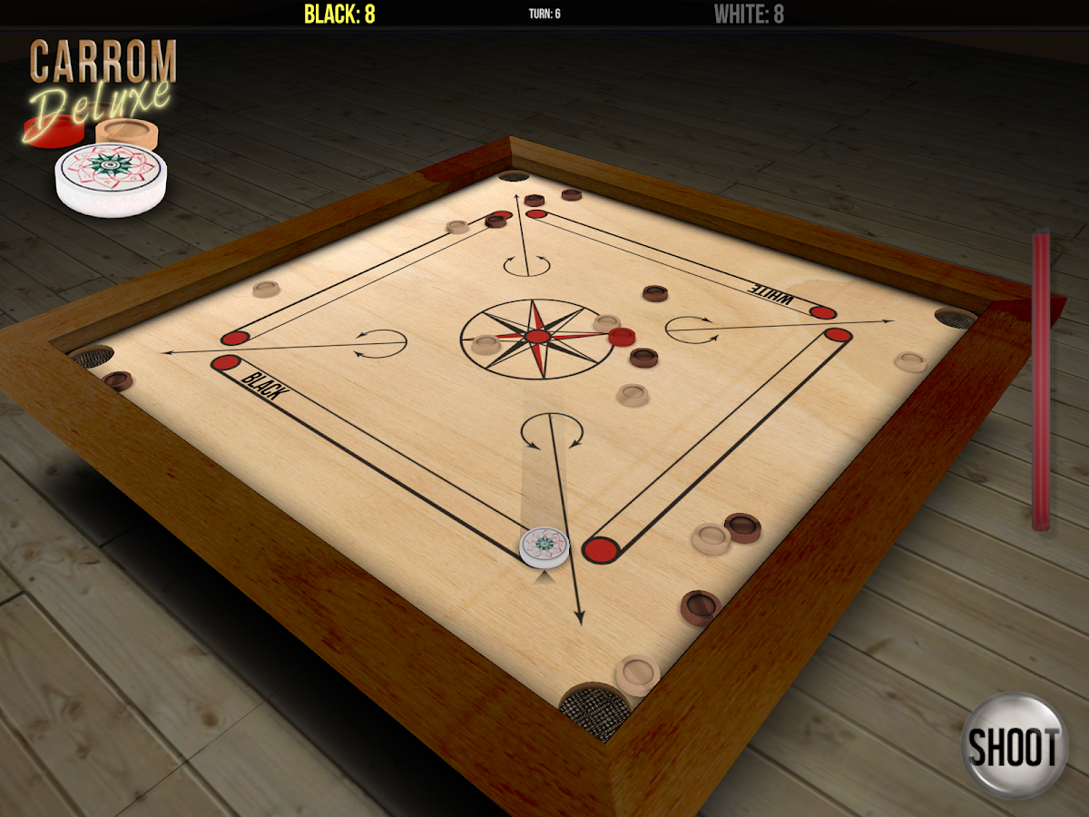 Carrom Deluxe Free - screenshot