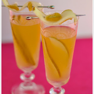 Ginger-Pear Sangria.