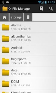 OI File Manager- screenshot thumbnail