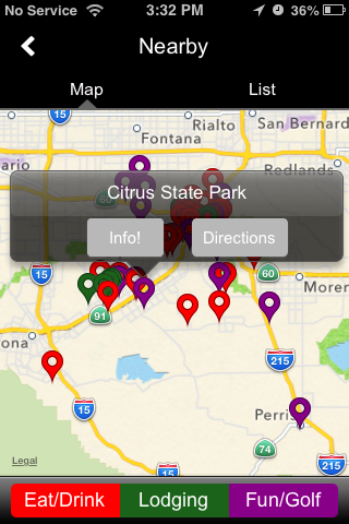 CityByApp® Riverside!- screenshot
