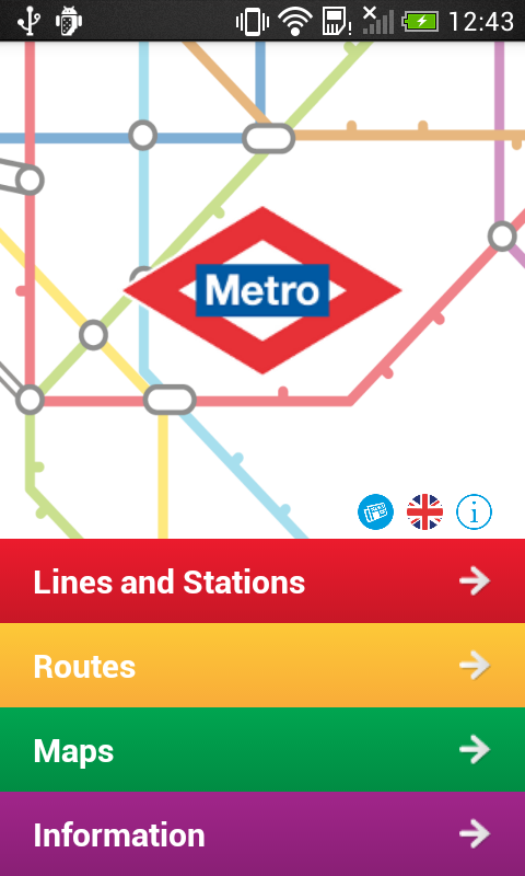 Metro de Madrid Official - screenshot