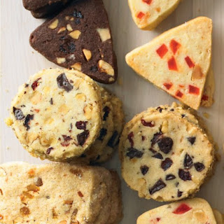 Chocolate, Walnut, and Cranberry Coins.
