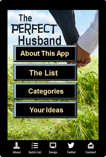 The Perfect Husband App