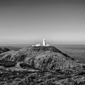 Strumble Head by Sean Lowe - Landscapes Mountains & Hills