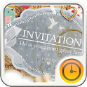 Invitation to Girly Widget icon