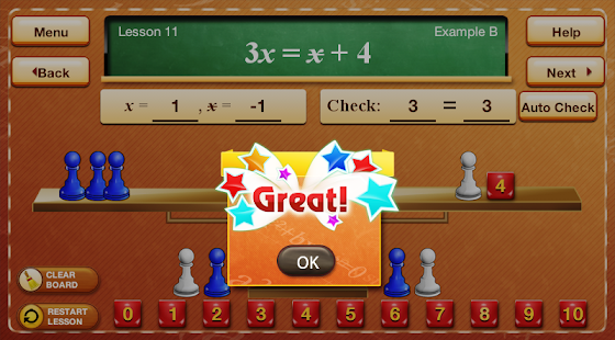 Hands-On Equations 2- screenshot thumbnail