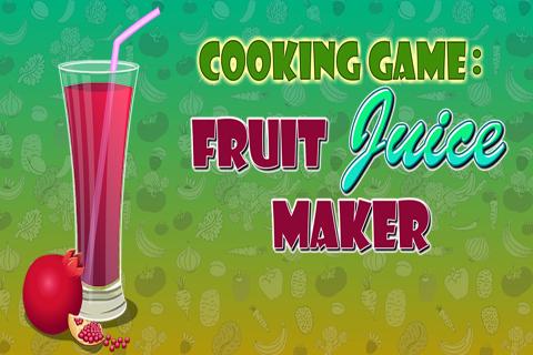 Cooking game:fruit juice maker