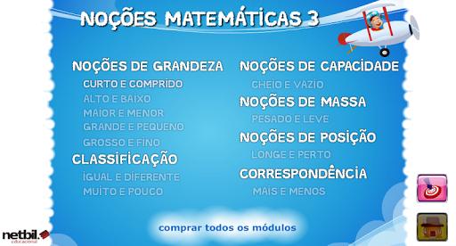 Noções Matemáticas 3