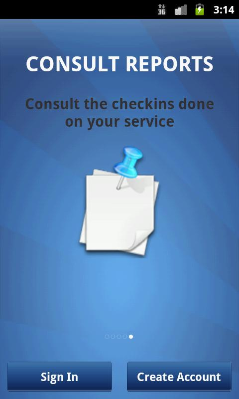 ECHECKIN SERVICES freemium- screenshot