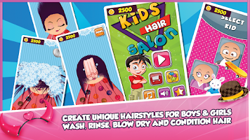 Screenshot of Kids Hair Salon