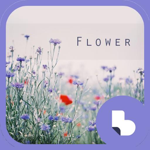보랏빛 꽃 버즈런처 테마 (홈팩)