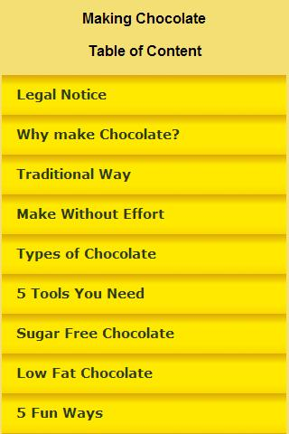 Chocolate Making Guide