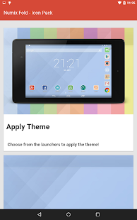 Numix Fold icon pack- screenshot thumbnail