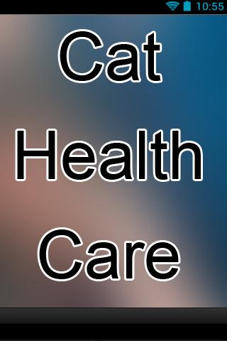 Cat Health Care