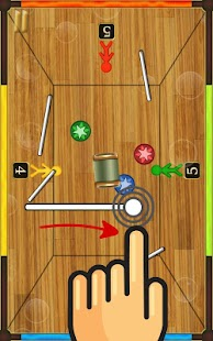 Draw Hockey: Super Air Hockey- screenshot thumbnail