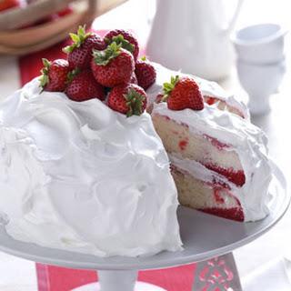 Strawberry Poke Cake.