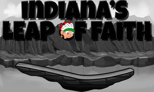 信仰的印第安納州的飛躍