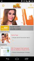 Screenshot of Suria FM