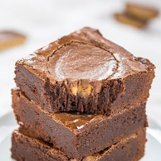 Fudgy Peanut Butter Cup Brownies.
