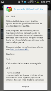 MiSueldo Chile- screenshot thumbnail