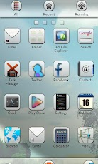 Whiteout GO LauncherEX Theme,download,apk,free,android
