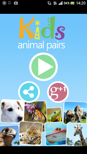 KIDS PAIRS - ANIMALS