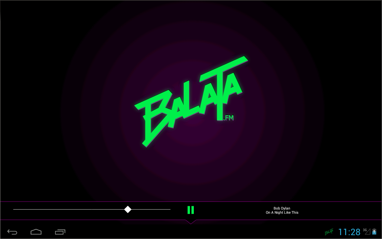 Balata.fm - screenshot