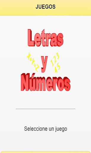 Juegos de Letras y Numeros