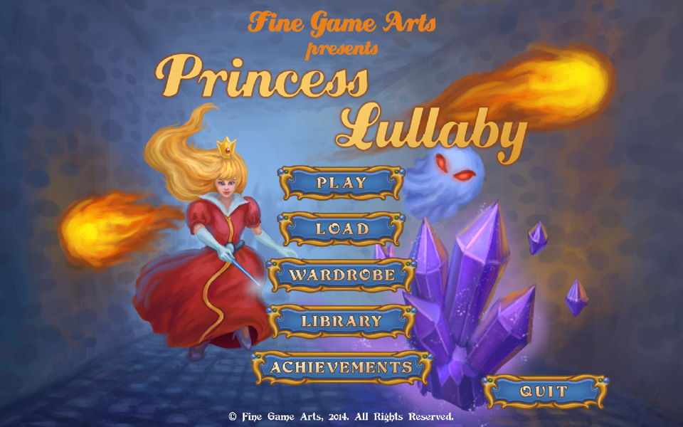 Princess Lullaby- screenshot