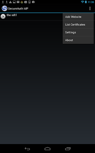 SecureAuth IdP for Android MAM
