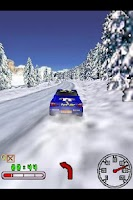 Screenshot of 3D Snow Rally Canada