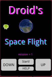 Droid's Space Flight- screenshot thumbnail