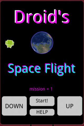 Droid's Space Flight- screenshot