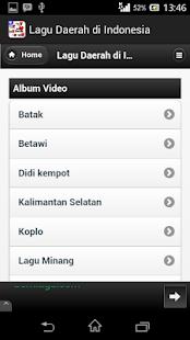 Lagu Daerah di Indonesia screenshot