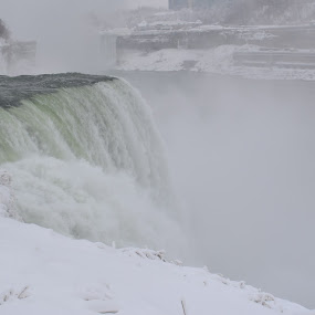 Niagra Fall by Palak Patel - Landscapes Waterscapes