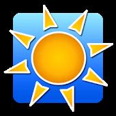 Solbrent UV Indeks