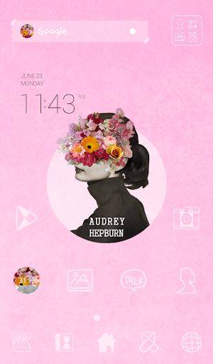 collage audrey dodol theme