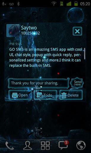 玩通訊App|GO SMS Pro Slayer ThemeEX免費|APP試玩