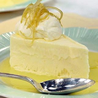 Frozen Lemon Mousse.