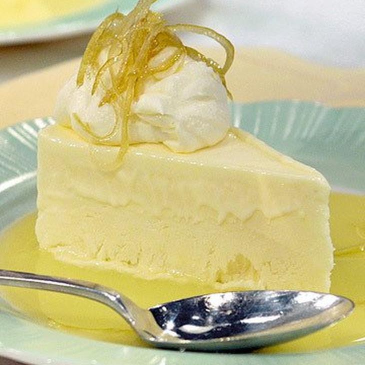 Frozen Lemon Mousse