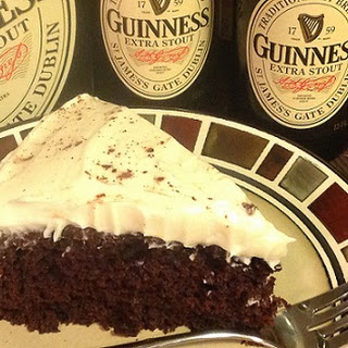Chocolate Guinness Cake.