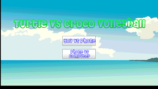 Volleyball Turtle Vs Croco