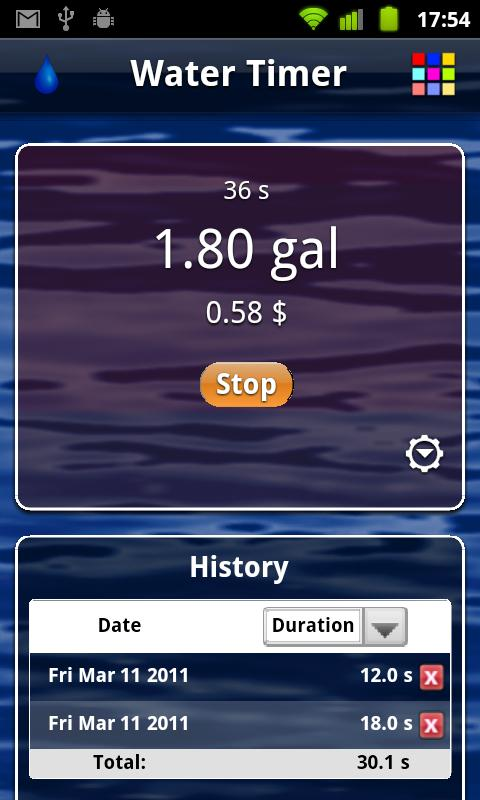 Water Timer- screenshot