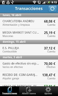 Wallo Finanzas Personales- screenshot thumbnail