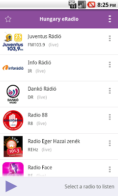 Hungary Radio - screenshot