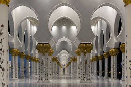 Sheikh Zayed Grand Mosque Abu Dhabi by Marco Parenti - Buildings & Architecture Places of Worship ( mosque, abu dhabi, architecture, places of worship, Architecture, Ceilings, Ceiling, Buildings, Building )